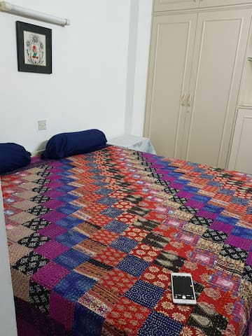 The doublebed..