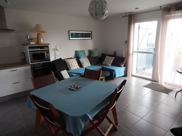 Very nice new apartment in the center of Andernos les Bains