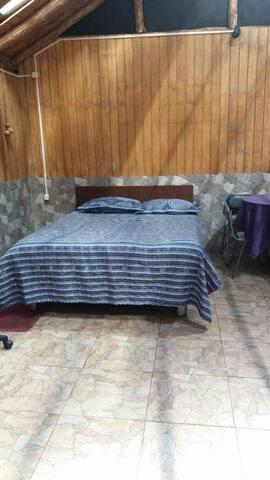 Cabaña equipada independiente para cuatro personas - Coyhaique - Cabaña