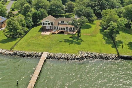 Chesapeake Bay Water Front Home w/ Private Pier