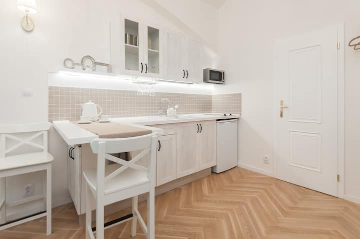 Romantic cozy apartment in the centre of the city