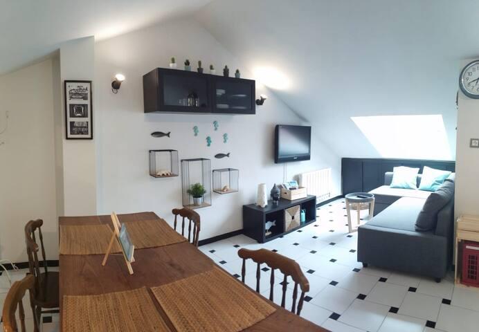 Apartamento en la playa de San Lorenzo de Gijón