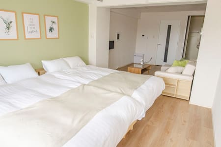 Relaxing Flat/Free Wifi/Free Parking/Near Station!