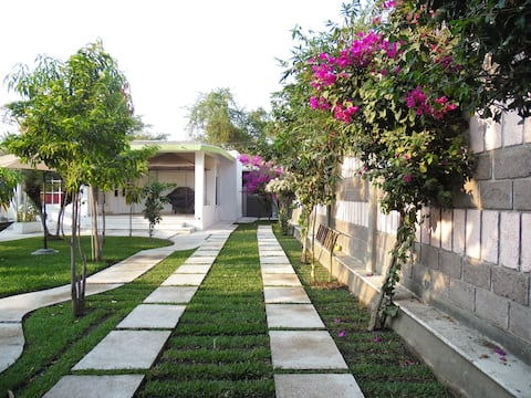 Casa privada con alberca en Jojutla, Morelos