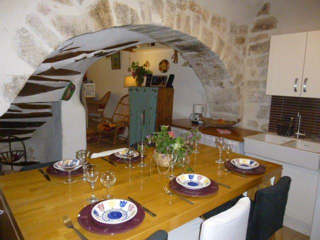 Maison de village avec terrasse - Rians - House