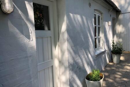 Hus midt på Fyn.