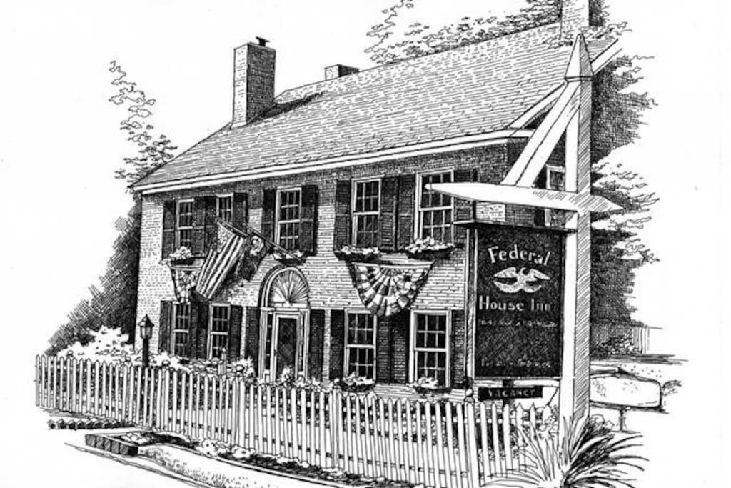 Federal House Inn - 1800