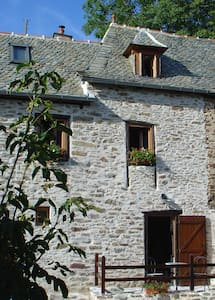 Beautiful stone cottage close to River Lot - Vieillevie