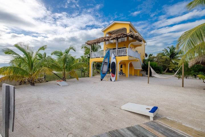 Casa de Mango, Ocean front, paddleboard and kayaks