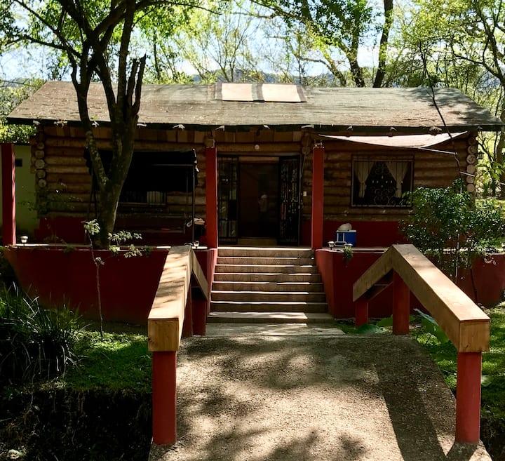The huasteca Cabain San Luis Potosi, Mexico