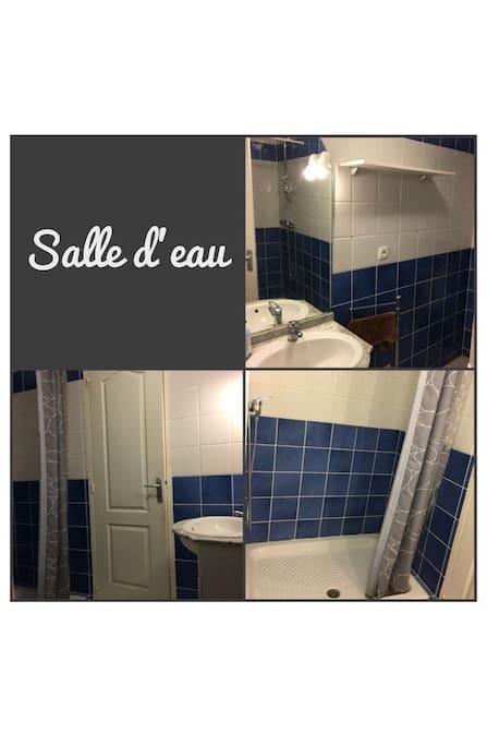 Salle d'eau - douche italienne