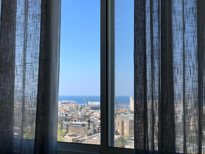 Cozy 5 Star Bed&Sea View in CityCentre-NETFLIX★