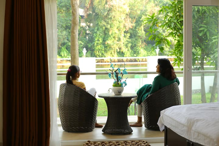 River view room near Lulu mall Edappally (L2R)