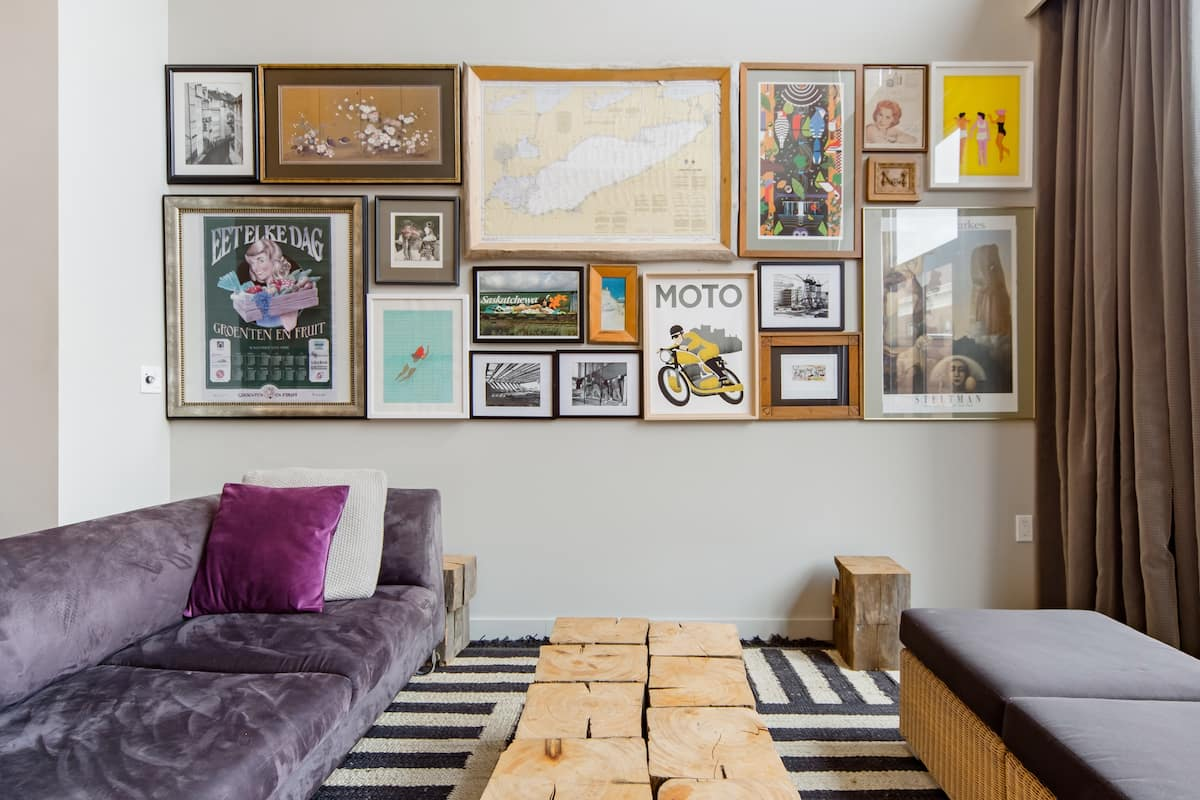 Admire the Street Art in Parkdale from this Swanky Loft