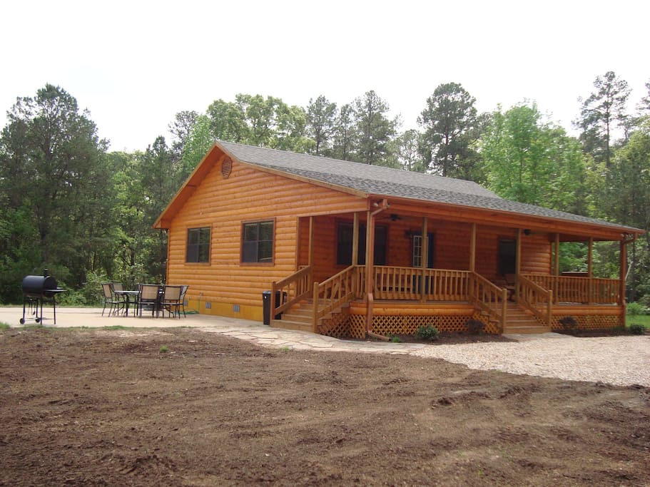 Piney woods cabin cabins for rent in mount vernon texas for Texas cabins in the woods