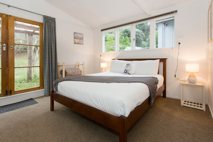 Bedroom four with comfy queen bed