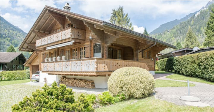 Charming Chalet with gorgeous view