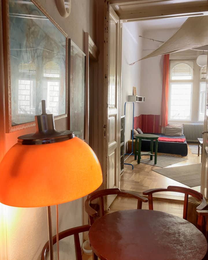 Green Bridge Hostel and Apartments room RED
