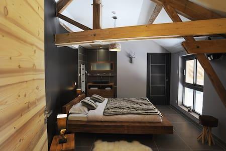 chambre atelier - Vignieu - Bed & Breakfast