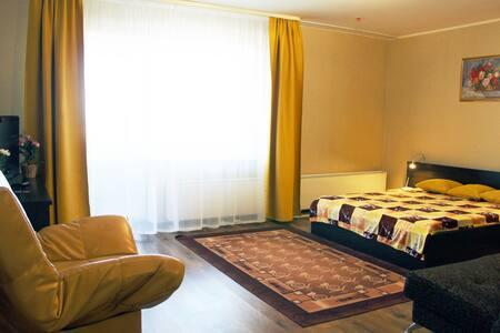 Просторная квартира  для семьи, командировки 22 эт - Perm
