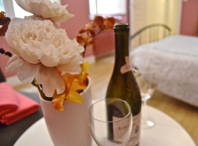 La actividad principal de Bordeaux es el vino, por ello es importante probarlo! En un bar a vin o en la comodidad del apartamento! Ya tienes las copas, solo falta el vino !