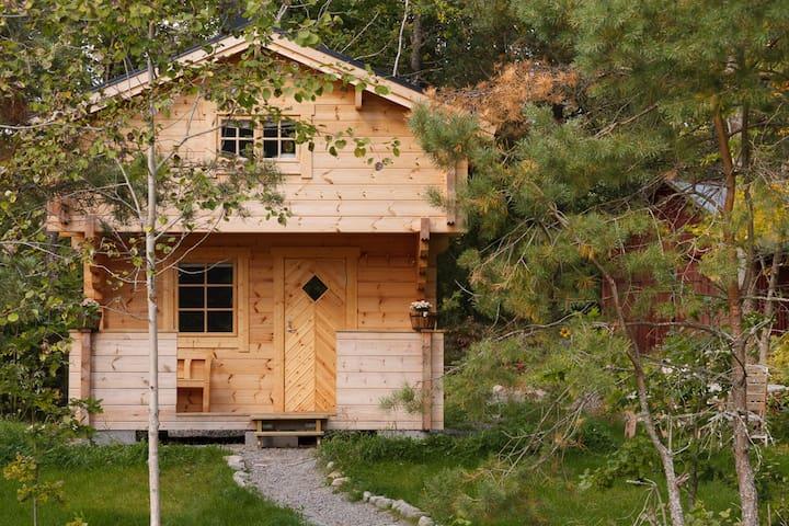 Naturhütte am Ruskensee-Vrigstadsan
