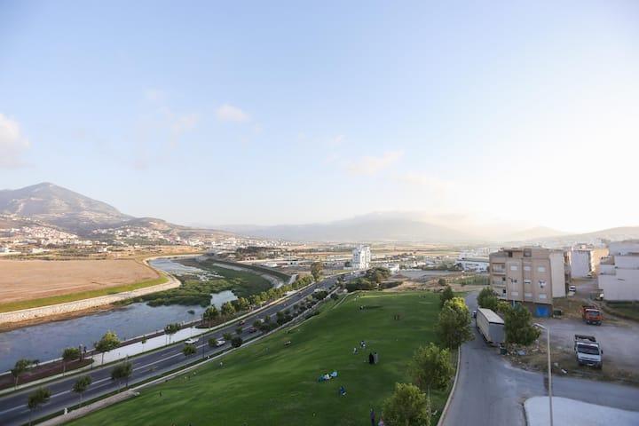 Chambre Quadruple Vue Montagnes à Makarim Tétouan