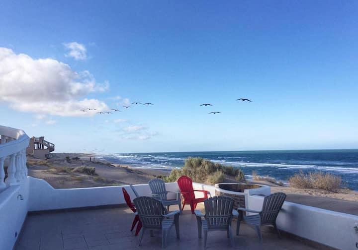 Beachfront 4BR House @ Santo Tomas