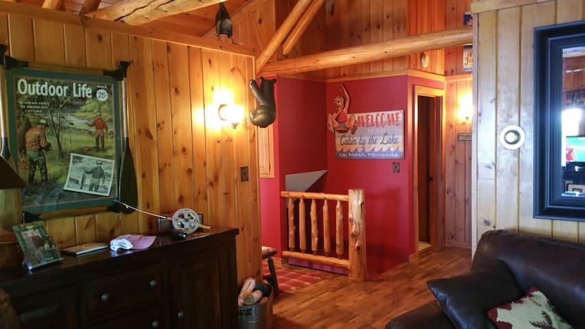 Beautiful Cabin located on a nice bay on Crosslake - Crosslake - Cabane
