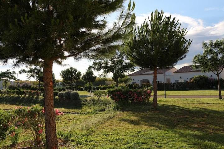 Villa 4 couchages dans résidence de loisirs