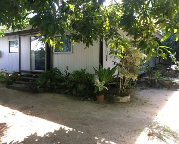 Faanui: maison avec accès au lagon.