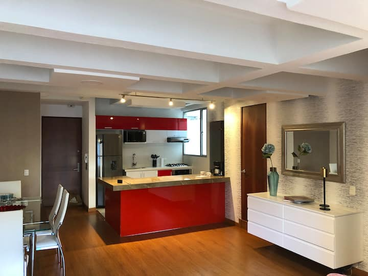 Luxury Apartment in the Best Location in Bogotà