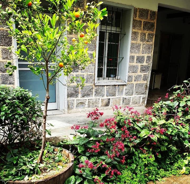 Garden suite in Berenice winery