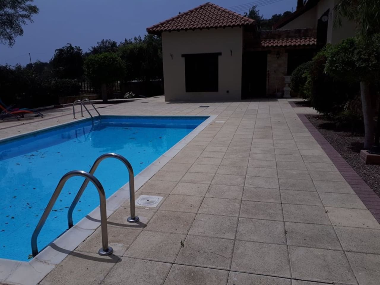 Swimming Pool and view to house