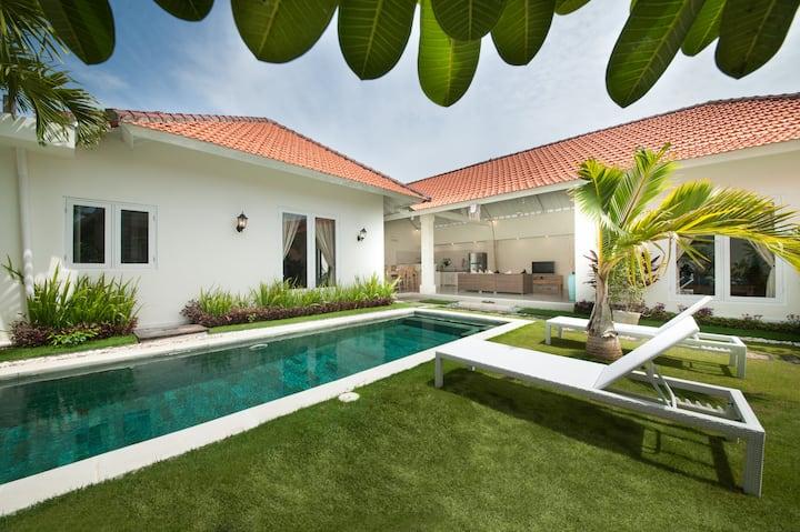 75% OFF Green Garden 3BR Villa 3min walk to beach