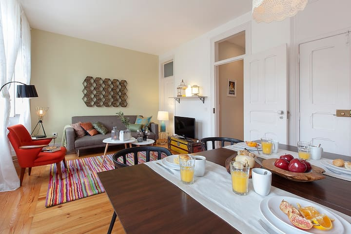 Santos III - Brilliant & Cosy apartment - Lisboa - Daire