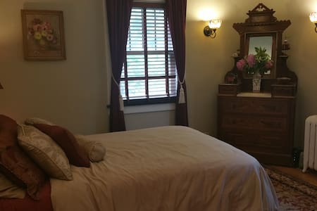 Newly renovate historic home, bedroom 2 - Peoria