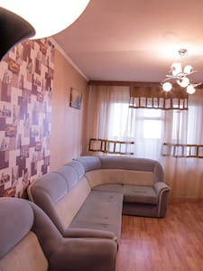 2-комнатная квартира р-он Сити Молл / Кирова 65 - Novokuznetsk - Apartotel