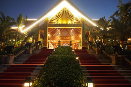 唯一可以看火箭发射的沿海纯泰式宫廷别墅 - Wenchang Shi - Villa