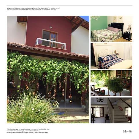 Casa linda e aconchegante em Santa Teresa
