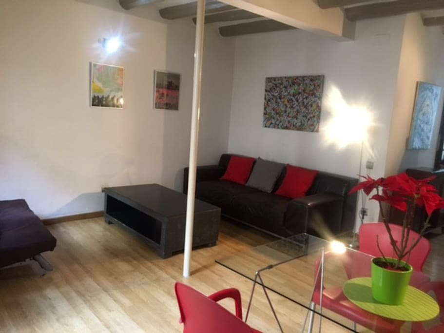 Zona de sofás y relax