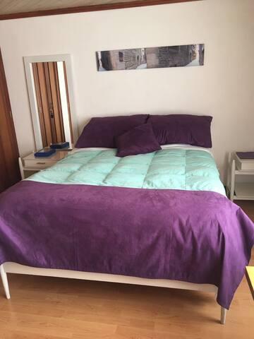 Cómodas habitaciones en Bella Suiza