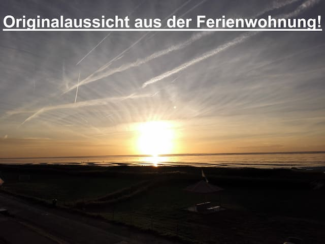 180°Panoramameerblick - Ferienwohnung Neuwerkblick