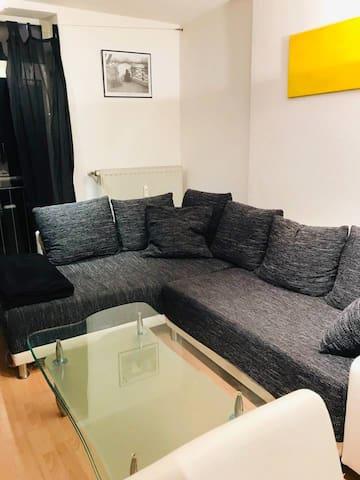 Helle und ruhige Wohnung im Zentrum von Aachen