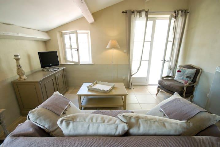 Apt 1 chambre, canap conv & terrasse (piscine&spa)