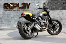 Elite big bike Ducati Scrambler for Rent