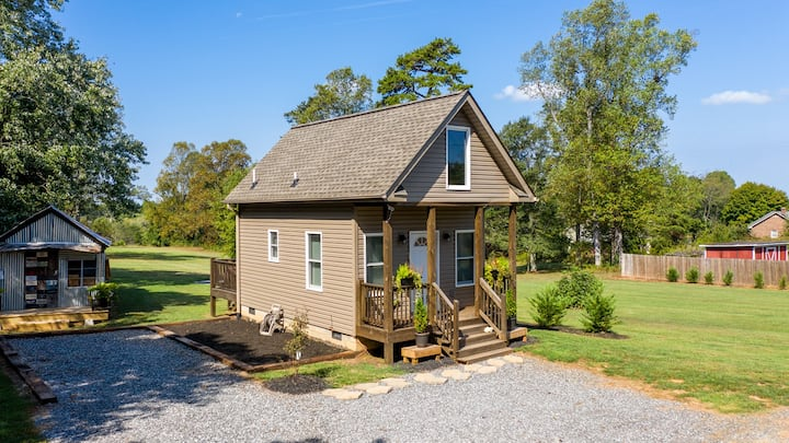 Hickory Tiny House, Short & Long Term availability