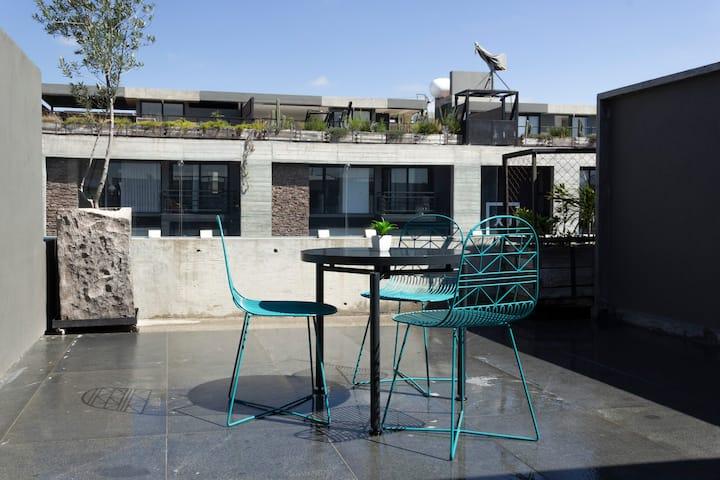 Suite con terraza