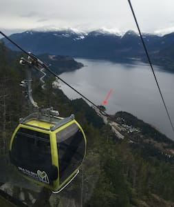 Tiny House on the water. - Squamish - Haus