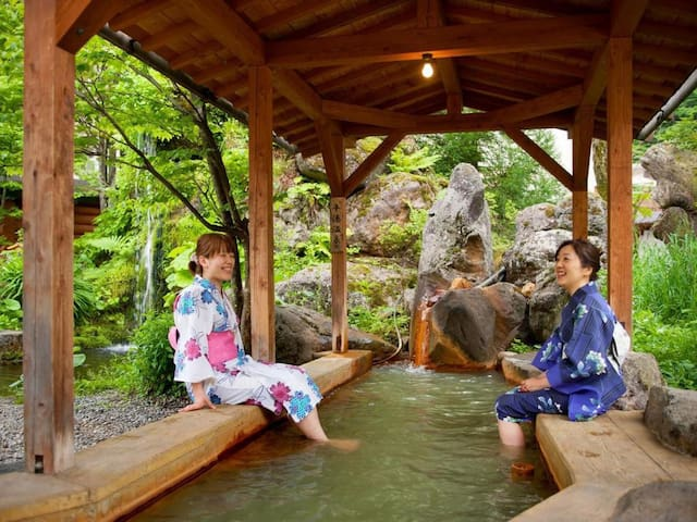 Enjoy Oku Hida Onsen★2 minutes on foot from Hirayu Bus Terminal【Room without meals】